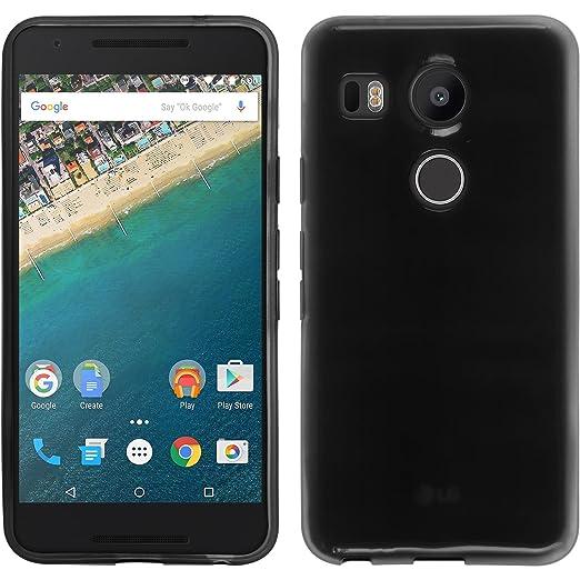 8 opinioni per PhoneNatic Custodia Google Nexus 5X Cover nero trasparente Nexus 5X in silicone