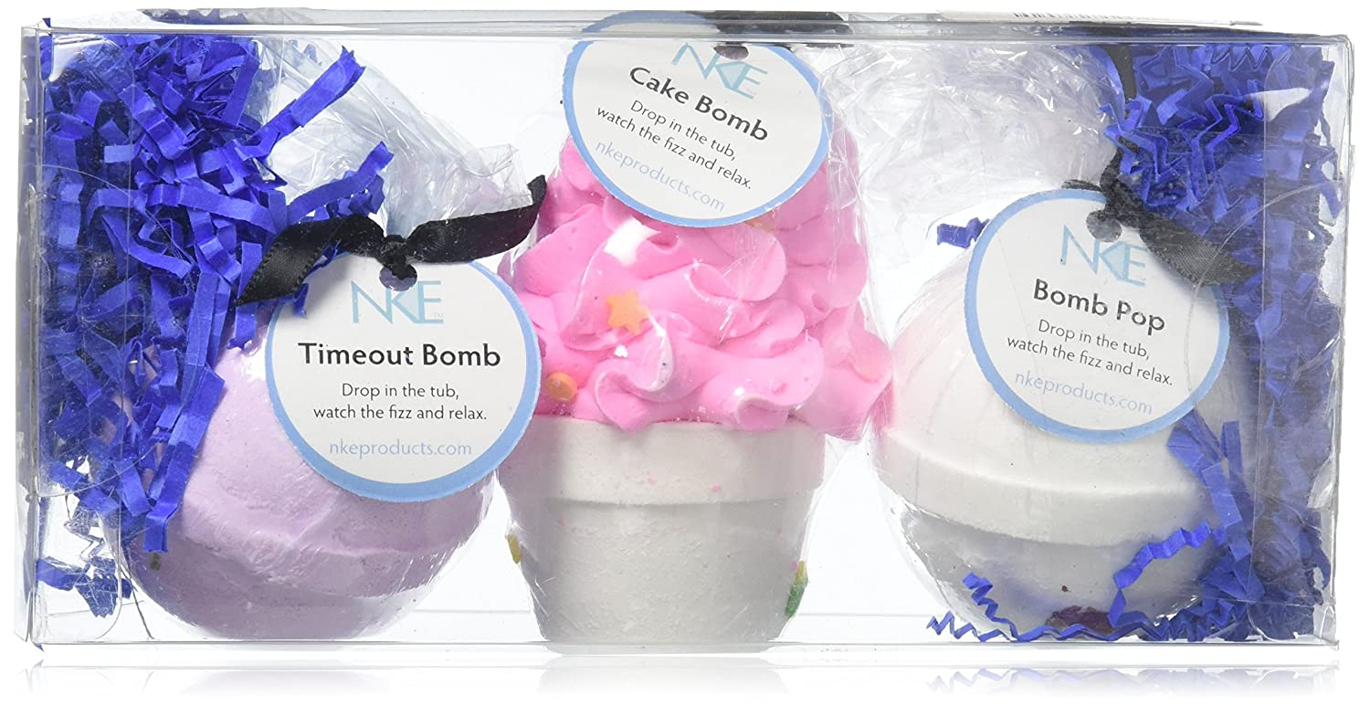 Amazon.com : Bath Bombs Set - Large Fizzies With Shea Butter ...
