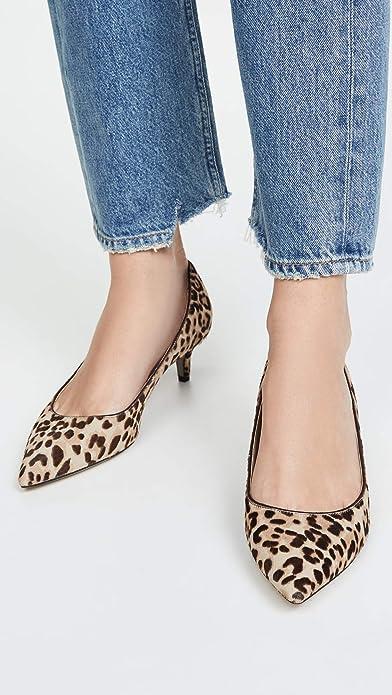 Sam Edelman Dori 豹纹 女式高跟鞋 35码3折$45.42 海淘转运到手约¥411
