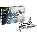 Revell 0390112Modellino Dassault Rafale C in scala 1: 48, Level 4