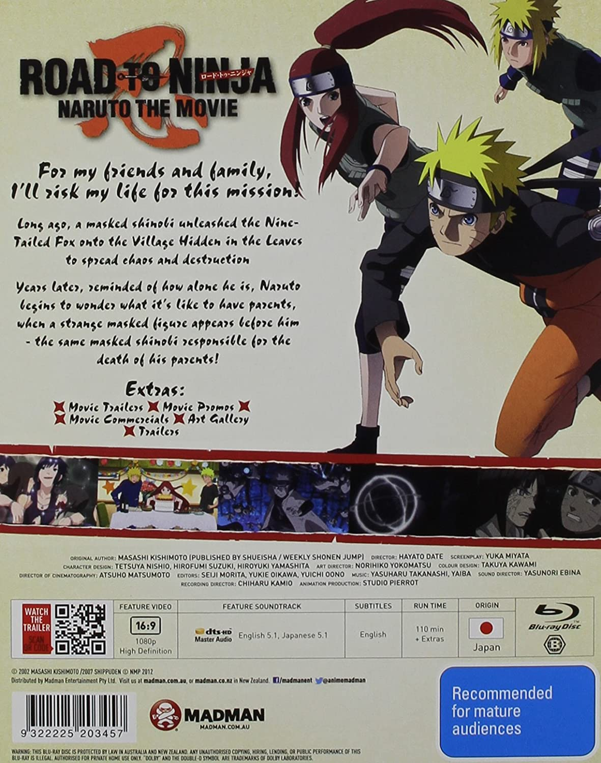 Amazon.com: Naruto Shippuden: The Movie-Road to Ninja [Blu ...