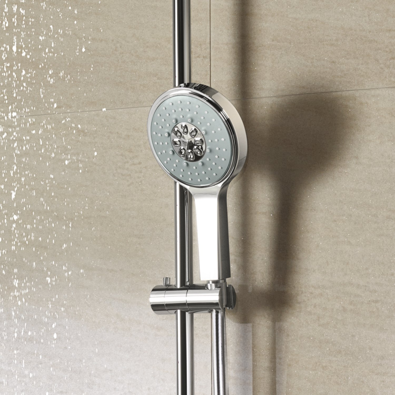 GROHE Syst/ème de Douche avec Mitigeur Thermostatique 27968000 Rainshower System 310 Import Allemagne
