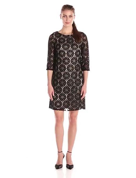 Amazon.com  Jessica Howard Women s All Over Lace Shift Dress  Clothing 6f6956eb9