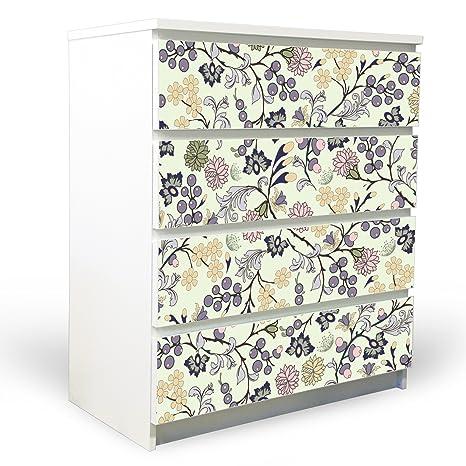 Design Sticker Banjado For Ikea Malm Chest Of Drawers 80 X