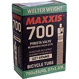 2-6 tube Maxxis Welter Weight 700x23-32C 48mm Road Bike Inner Tube Presta FV