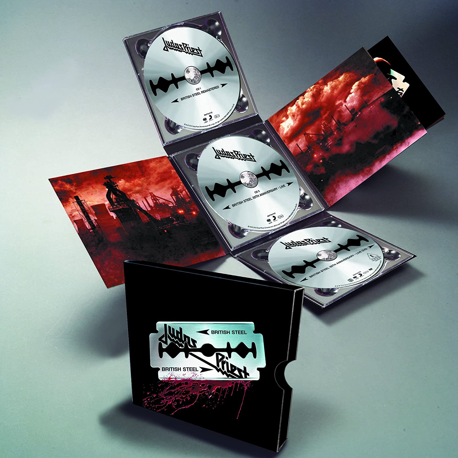 44bb4541cabeed British Steel  30th Anniversary (Deluxe Edition 2CD+DVD)  Amazon.co.uk   Music