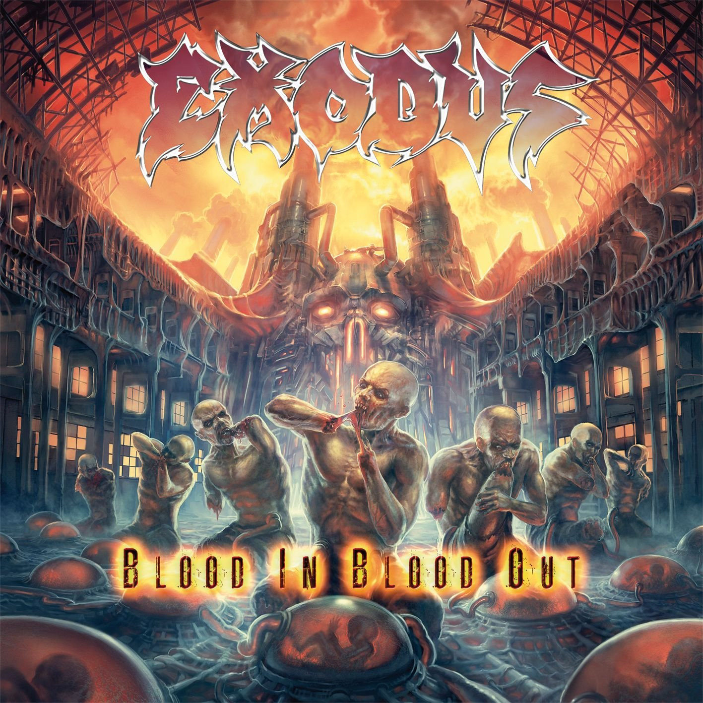 CD : Exodus - Blood in Blood Out (CD)