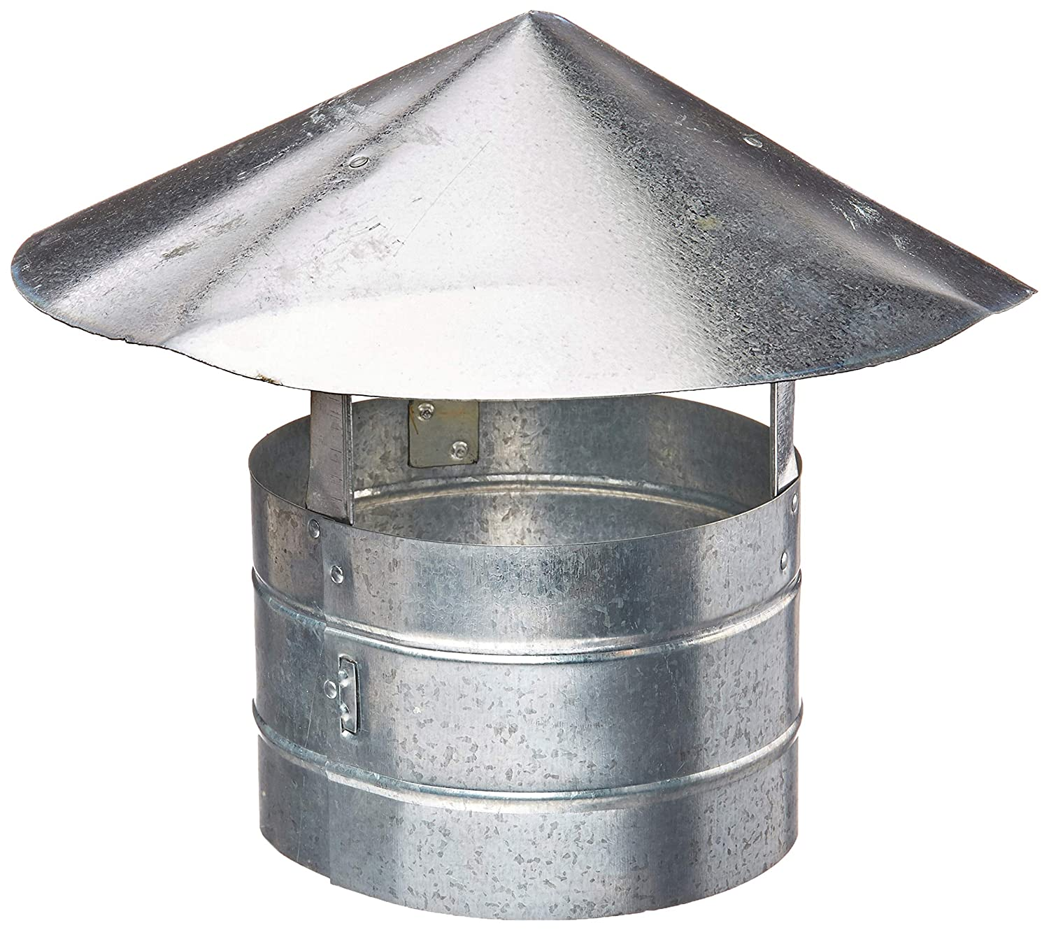 Billy Penn 8104 Galvanized Steel Roof Cap, 7
