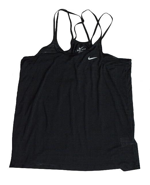 afcf28f699 Amazon.com  Nike Dri Fit Cool Breeze Women s Running Tank Top (L ...