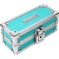 Vaultz Locking Sunglass Case, Blue/Teal Sparkles