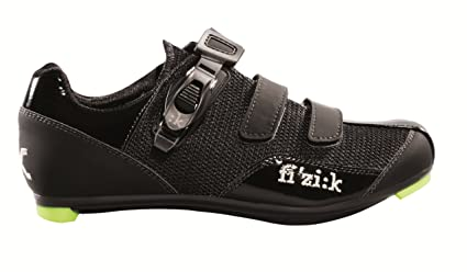 the latest 4faaf ed736 Fizik Women's R5 Donna Road Cycling Shoes - Black (Black - 37)
