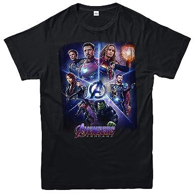 Black Widow Avengers EndGame Marvel Comic T-Shirt Men/'s Black Size S-5XL