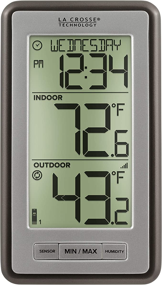 West Long Wall Thermometer