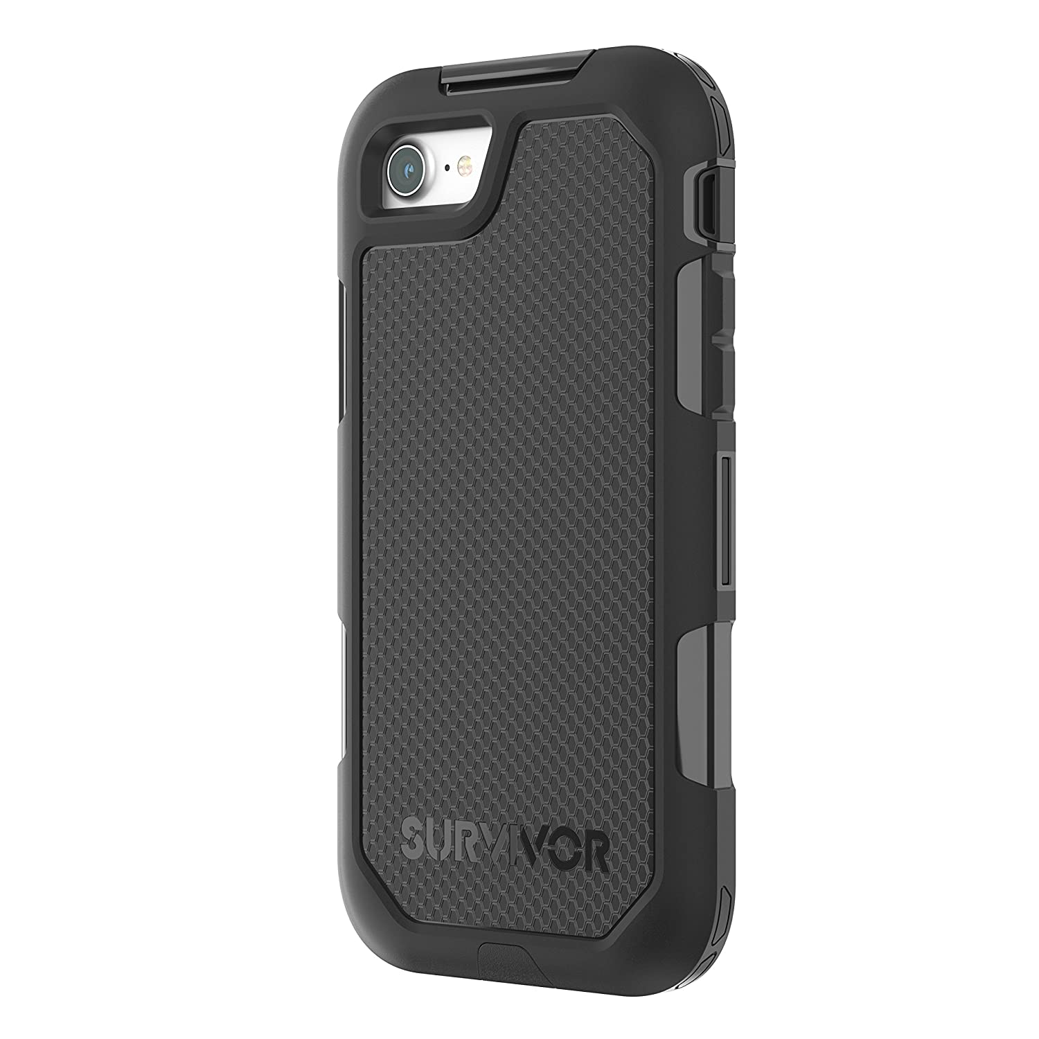 Griffin Survivor Extreme Case Cover for iPhone 8, Black  Amazon.co.uk   Electronics 14524bb2a536