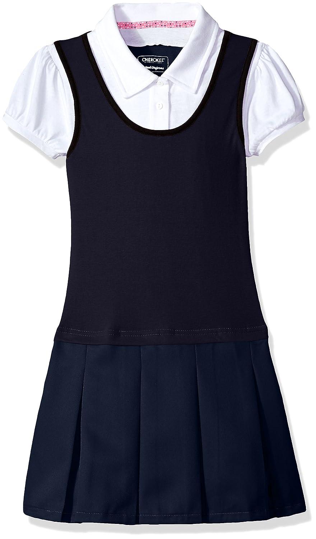 Cherokee Girls Uniform Polo Dress 97D2917