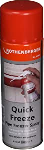 Rothenberger 64001 Quick Freeze Spray, 17.5-Ounce