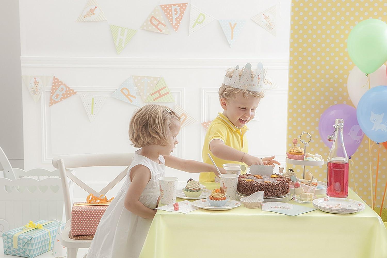 Sophie la girafe Infant//Toddler Birthday Party Set Set of 12