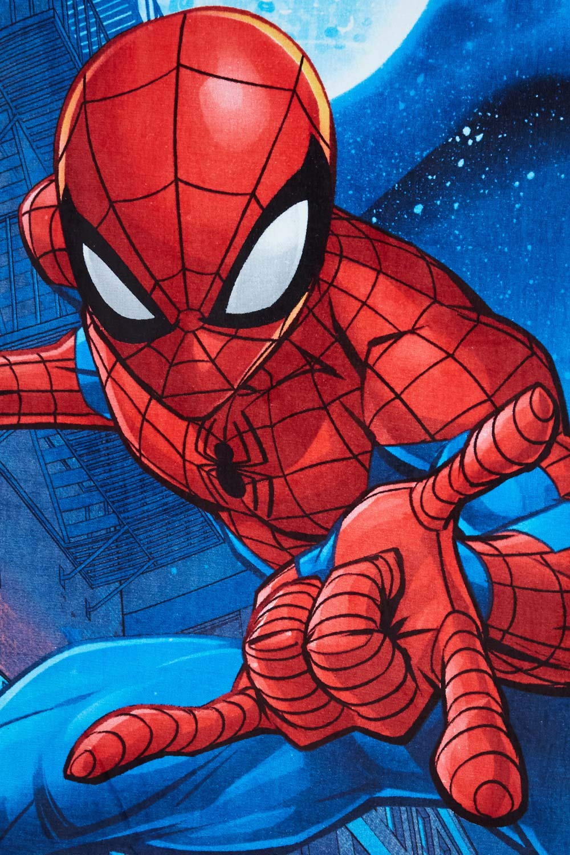 Marvel Spider-Man Handtuch Strandtuch f/ür Kinder verschiedene Designs 70 x 140 cm Spider-Man Comic 100 /% Baumwolle