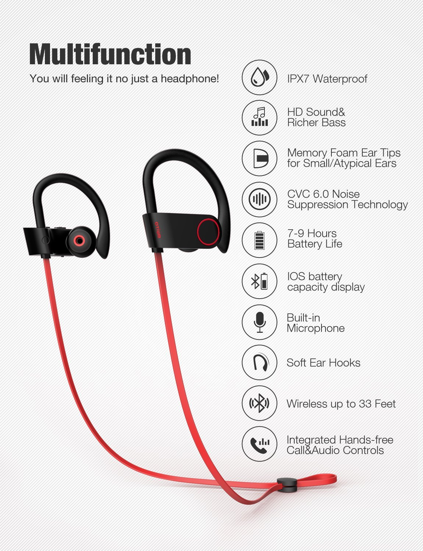 Otium Bluetooth Wireless Headphones Review