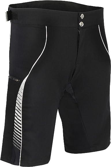 XGC Short de Cyclisme pour Homme avec Rembourrage en Gel 4D /élastique et Respirant