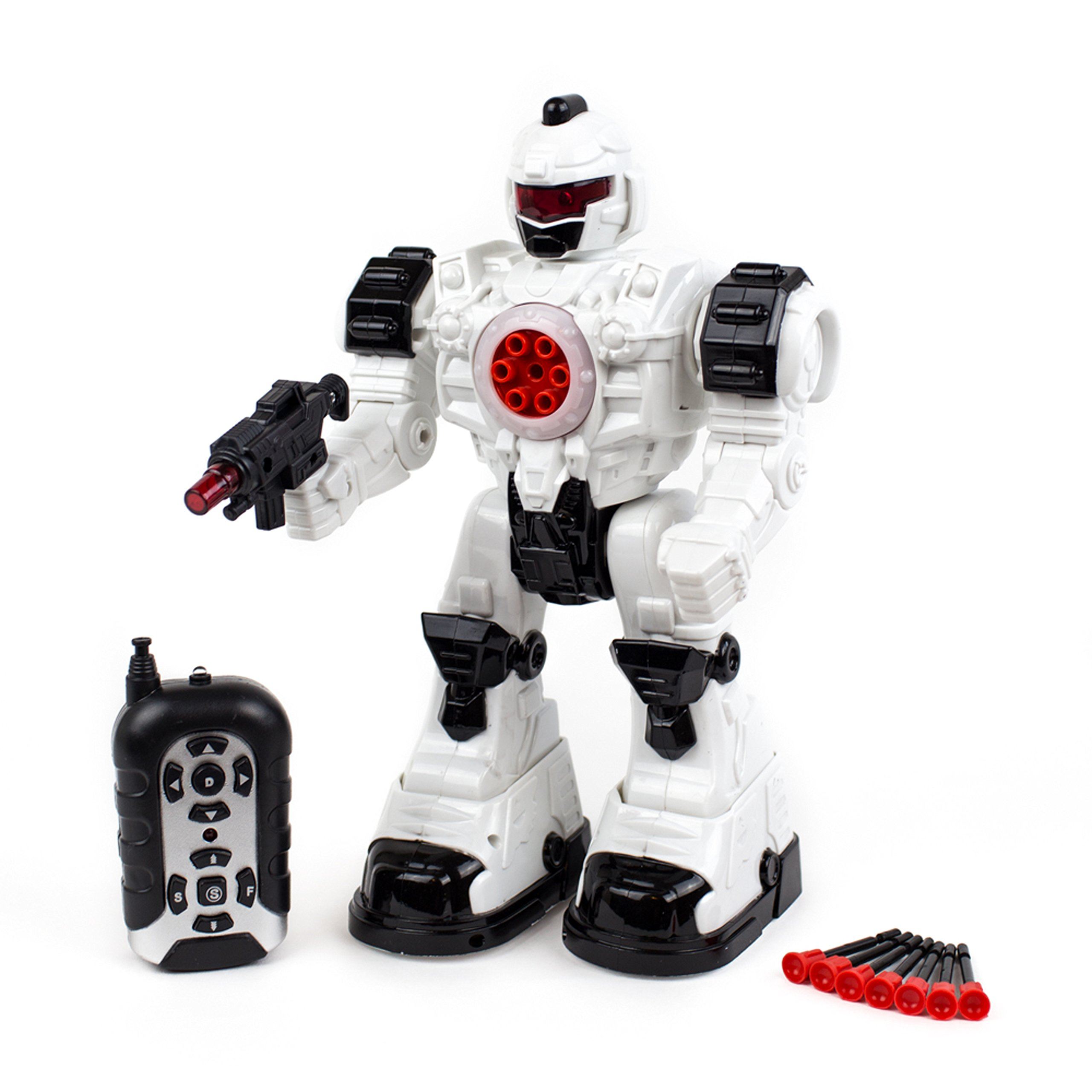 Toysery Remote Control Robot Police Toy for Kids Boys Girls with Flashing Lights Action Toy for Boys by Toysery (Image #2)