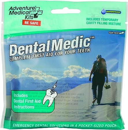 Adventure Medical Kits Dental Medic Travel First-Aid Kit for Teeth