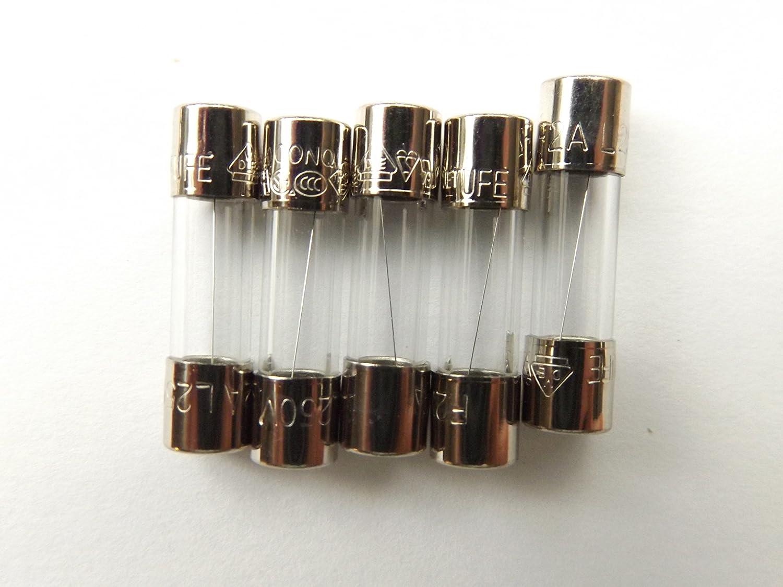 Fusible 2/A 20/mm LBC F2/a L 250/V rapide Quick Blow X5pcs