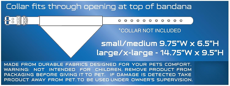 Large//X-Large Pets First Collegiate Pet Accessories Reversible Bandana Florida Gators