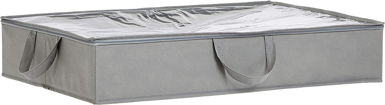 Amazon Basics – Bolsa de tela de almacenamiento bajo la cama