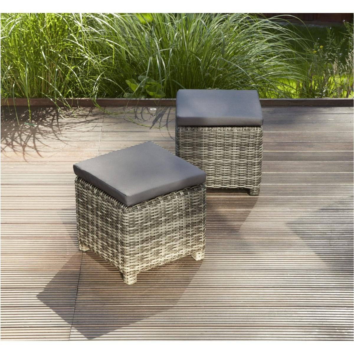 Amazon.de: greemotion Rattan-Lounge Set Miami 6tlg - Design ...