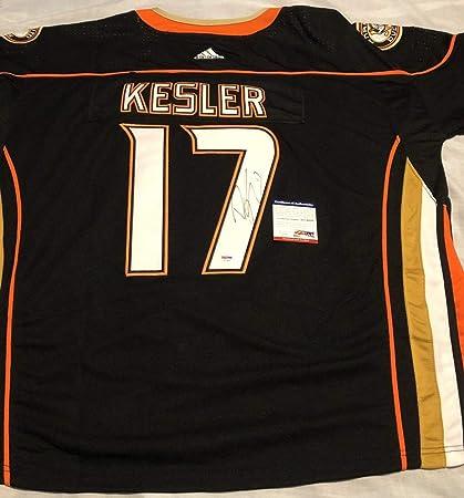 super popular f3a87 fa92f Ryan Kesler Autographed Signed Anaheim Ducks Jersey Stanley ...