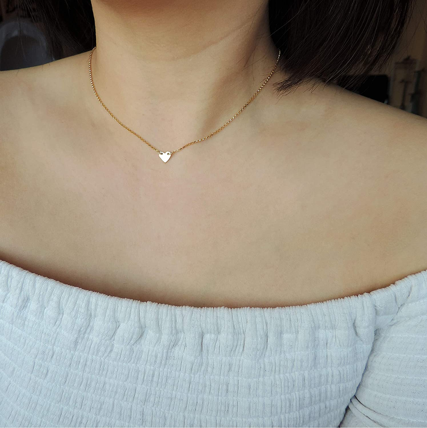Moonstone The Dainty Sterling Silver Rosary Necklace