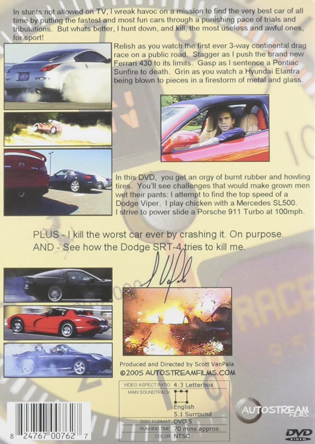 The ® Real Autostreams Chaos Theory on Wheels: Amazon.es: Cine y Series TV