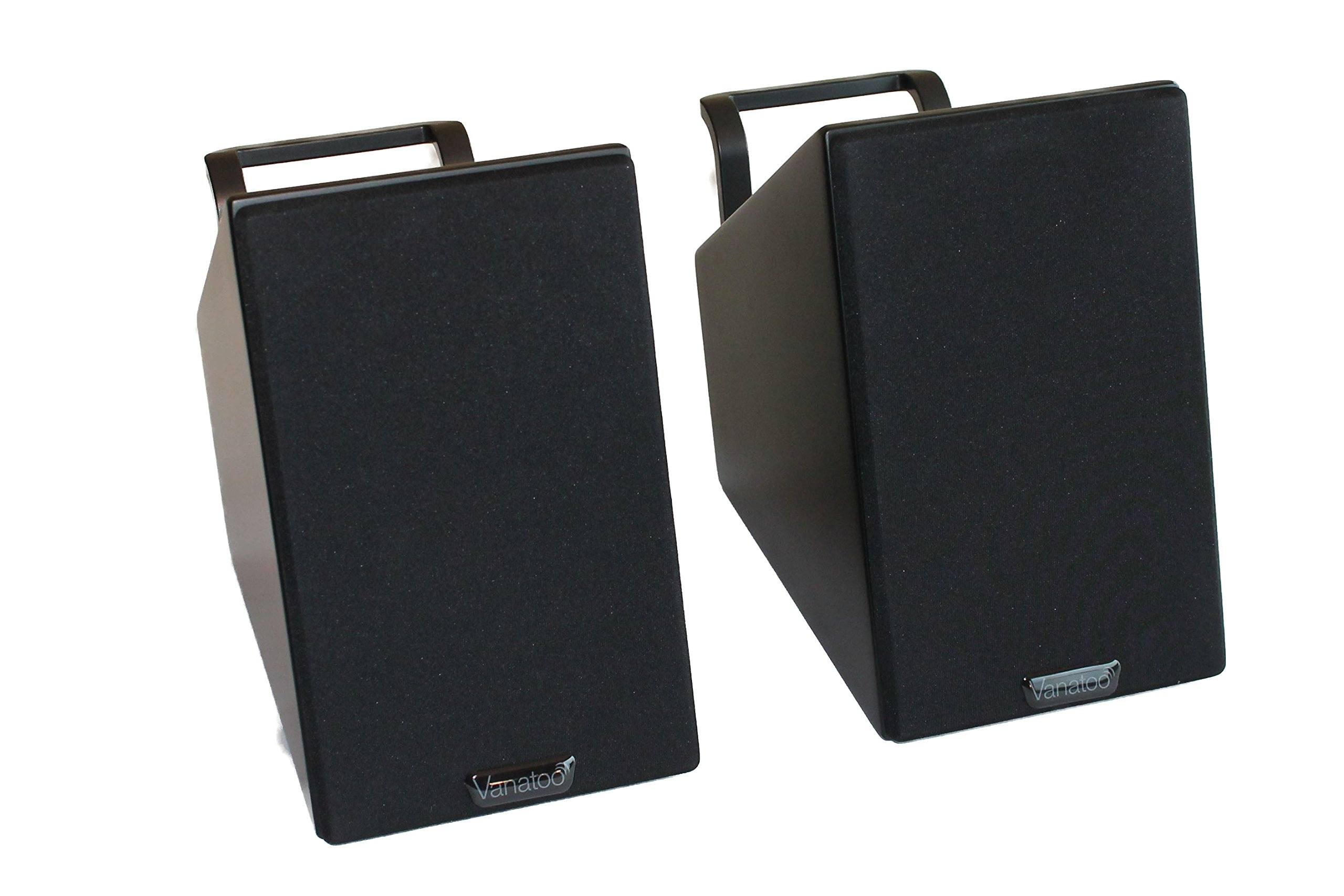 Vanatoo Transparent Zero Powered Speakers (Black, Set of 2) by Vanatoo