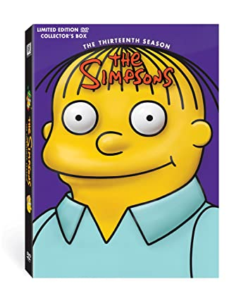 Amazon Com The Simpsons Season 13 Limited Edition Collector S Box Simpsons Movies Tv