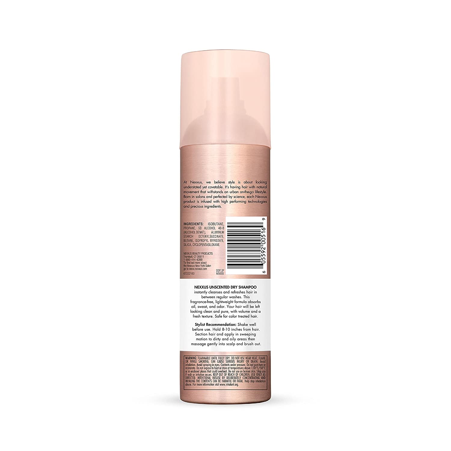 Nexxus Clean Pure Unscented Dry Shampoo 5 Ounce