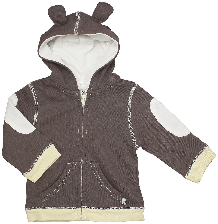 Babysoy Unisex-Baby Newborn  Soft Fleece Hoodie