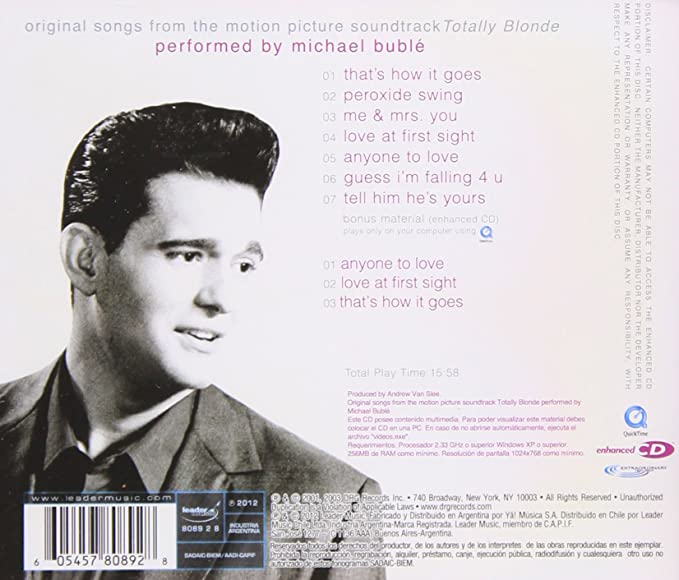 9389d19c14 Totally Buble-(3 Bonus) by Michael Bublé