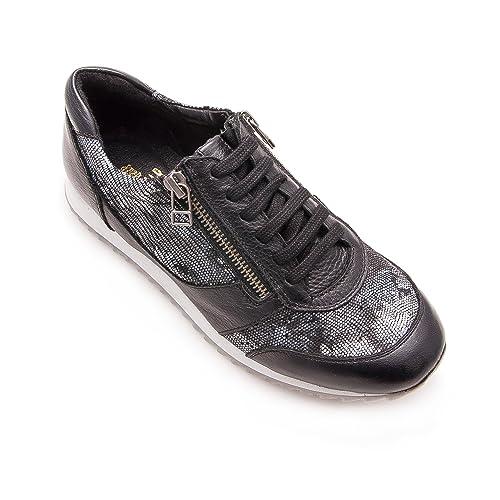 Zerimar Zapatillas de Deporte en Piel | Zapatillas Deporte Mujer | Zapatillas Deporte Mujer Casual | Zapatillas Deportivas: Amazon.es: Zapatos y ...