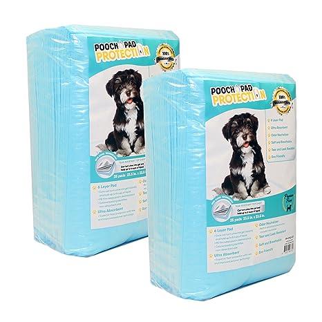 Pooch Pad - Almohadillas de protección para perros de 50 hilos, grandes/59x 23