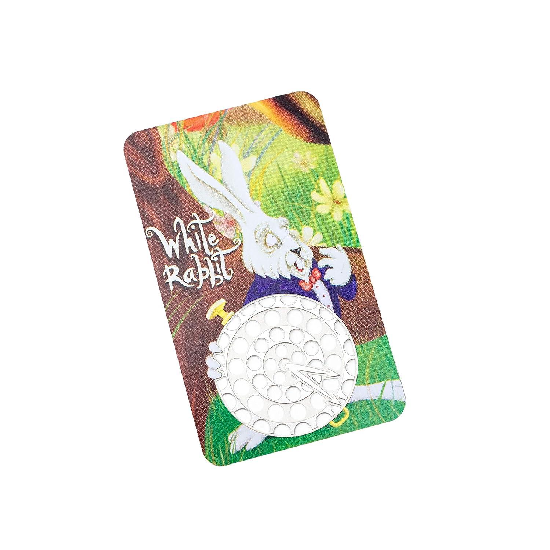 Amazon.com: Tarjeta de Alice In grinderland conejo blanco ...