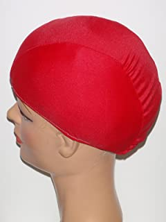 product image for Extra Large Red Lycra Swim Cap (XL)
