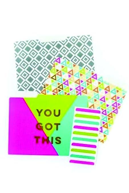 Amazon com : Paper-Love Upscale File Folder 10 piece (9 Folders and
