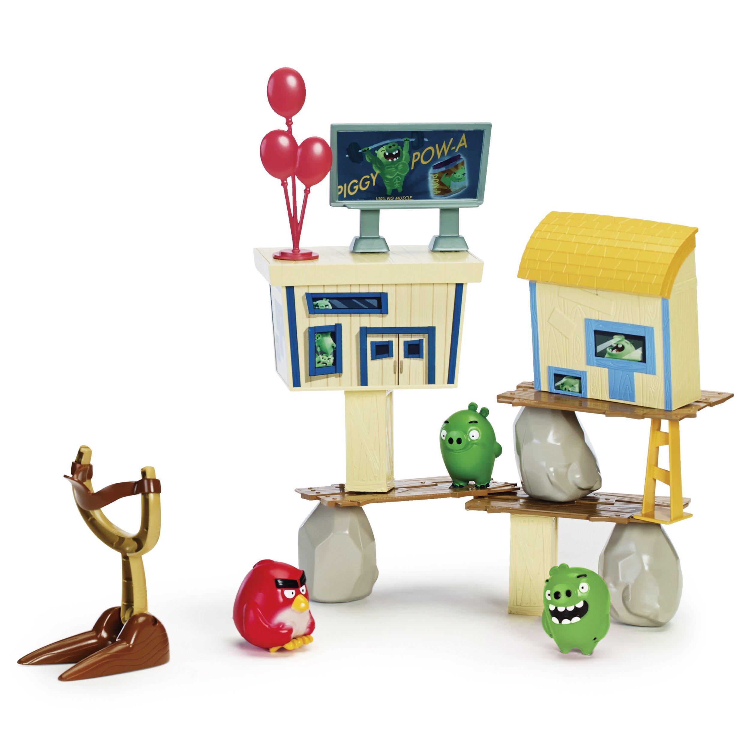 Angry Birds Pig City Strike Playset
