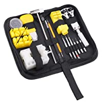 NAZCE 180 pcs Professional Watch Repair Tool Kit, Opener Link Remover Spring Bar Watchmaker Tool With Carrying Case