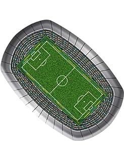 Fußball Party Teller 23 Cm (8 Stück)