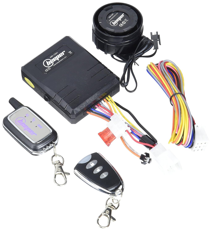Beeper XA1026R Alarma Bidireccional para Moto y Scooter ...