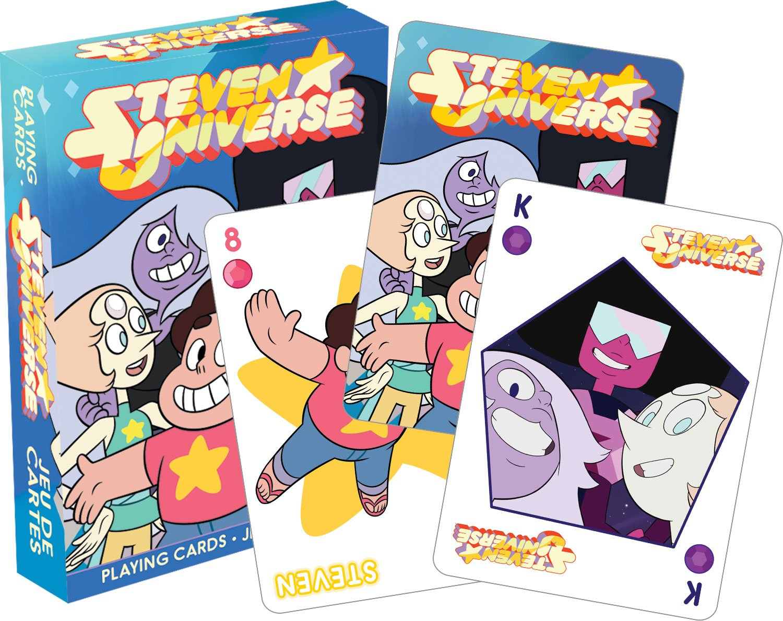 Amazon.com: Aquarius Steven Universe Juego de cartas: Toys ...