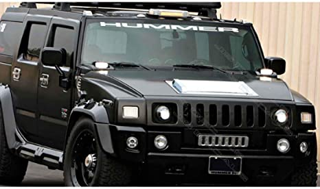 "H3  /""HUMMER/"" Flag  Decal Sticker"