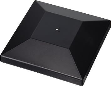2x Post Cap Cover Cap 60 mm KU Black Mesh Fence Accessories posts
